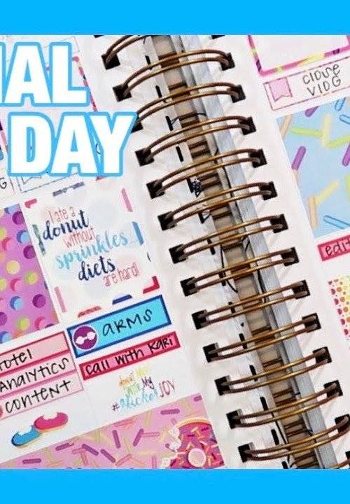 PLAN WITH ME | MAKSE LIFE VERTICAL PLANNER | DESIGN PANDEMONIUM