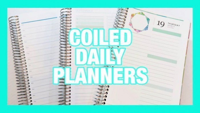 MY CUSTOM PLUM PAPER PLANNER | COILED DAILY PLANNER COMPARISONS