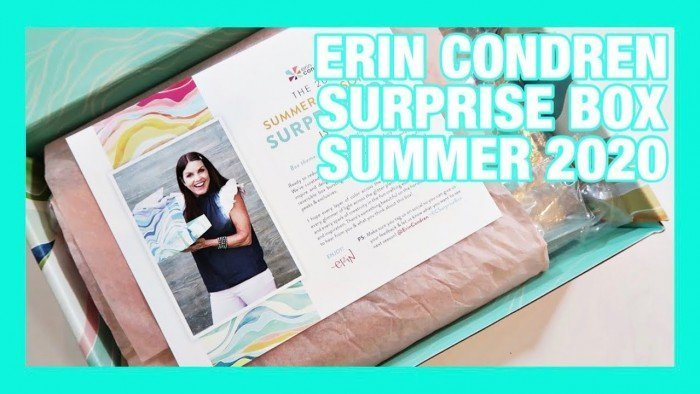 ERIN CONDREN SEASONAL SURPRISE BOX | SUMMER 2020