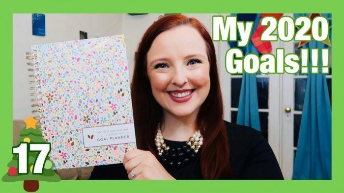 Goal Setting using the 2020 Power Sheets | Changing it up this year! | Vlogmas 2019