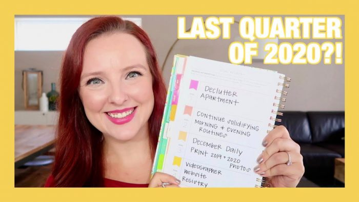 QUARTERLY GOALS | POWER SHEETS CHECK IN | Q4 2020